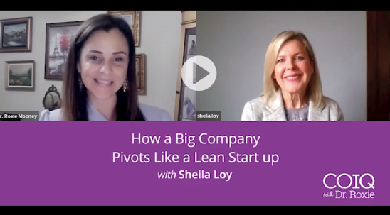 How a big company pivots like a lean start up w/ Sheila Loy